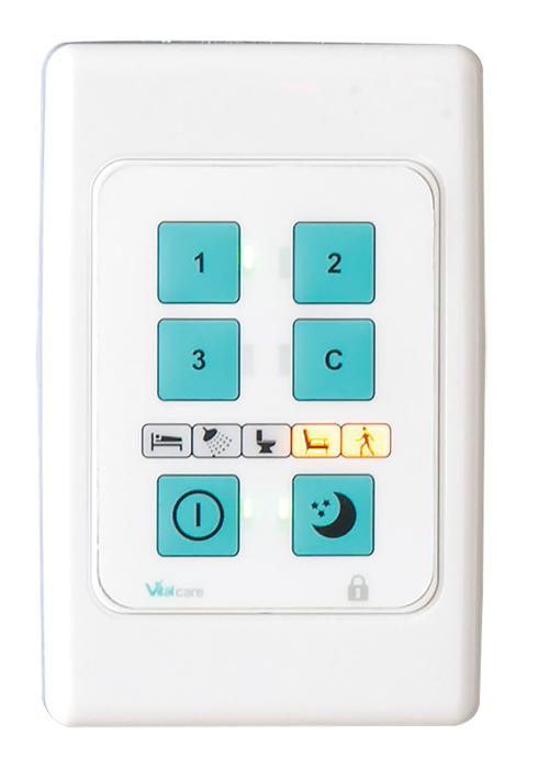 CRIS External Keypad with Real-time Status Indicators Faceplate