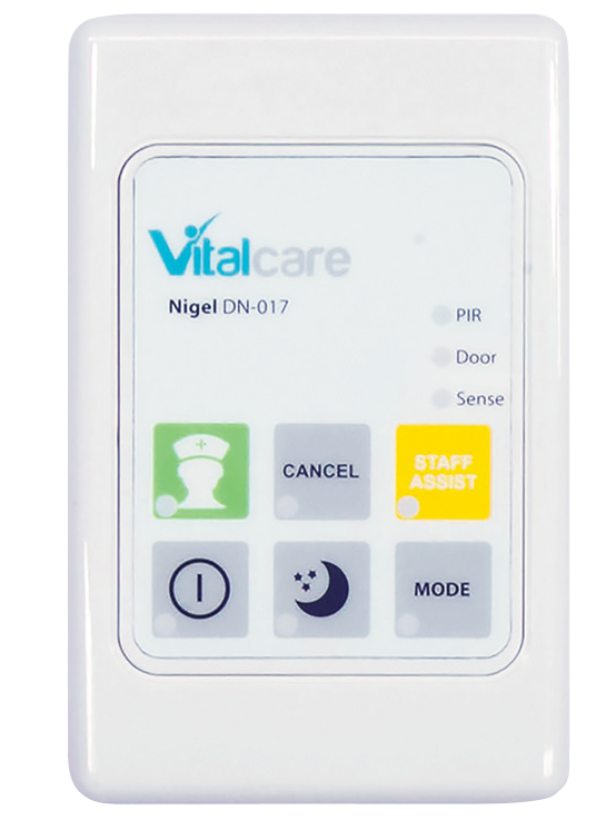 Nigel Wantering Resident Monitor Door Keypad Controller Faceplate